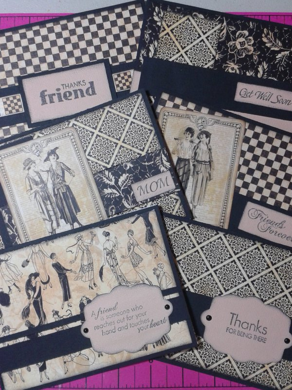 An assortment of cards for all occasions