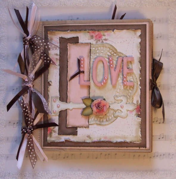 Shabby Chic Paper Bag Album