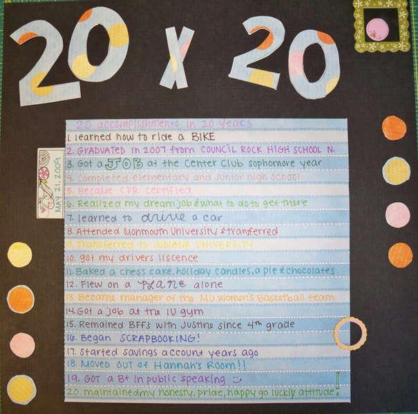 20 by 20