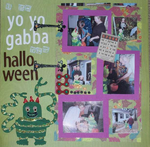 I Be Yo Yo Gabba for Halloween!