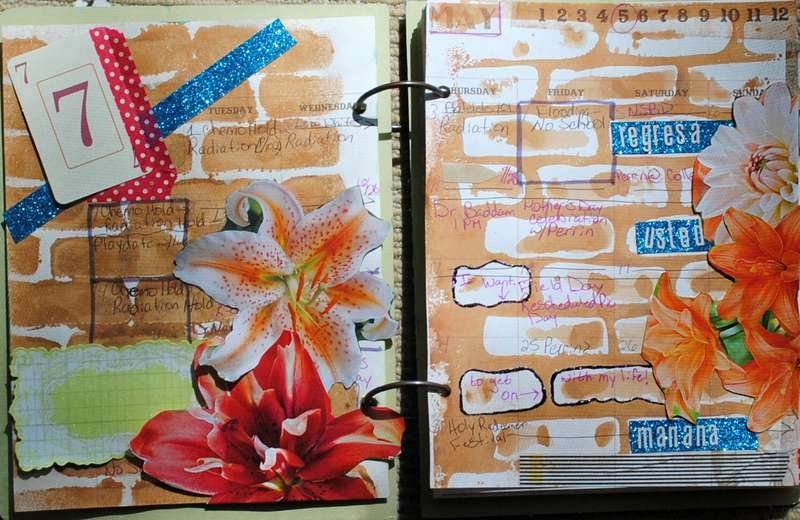 May Art Journal -- Regressa Ud, Manana