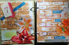 May Art Journal -- Regressa Ud, Manana