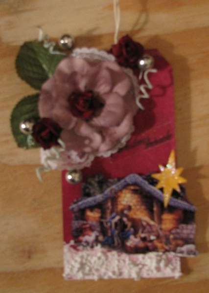 Nativity Gift tag