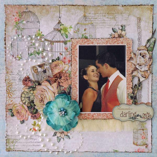 Darling ~~ July Scraps Of Elegance Kit ~~