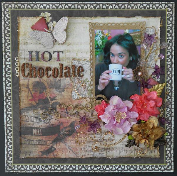 Hot Chocolate ~~ Chocolate Challenge !!