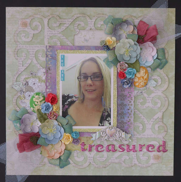 You Are Treasured ***GDT Scraps of Elegance***