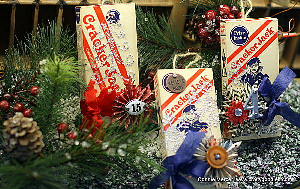 Cracker jack ornaments~