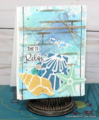 clear scraps sea shell card2