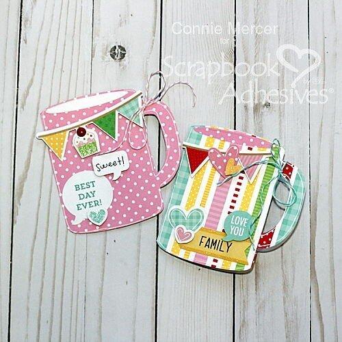 Mug cup gift card holder~
