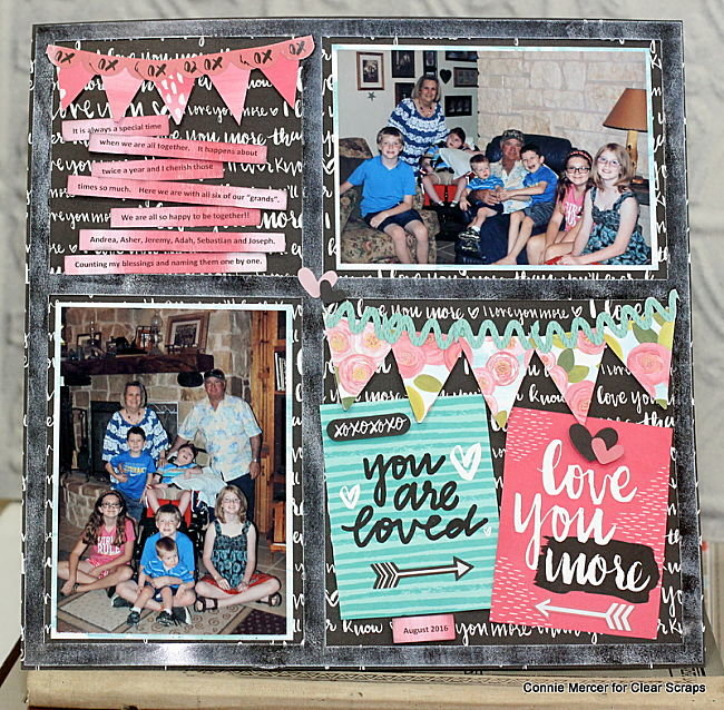 banners acrylic layout