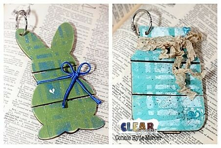 Mini Pallet shapes by Clear Scraps