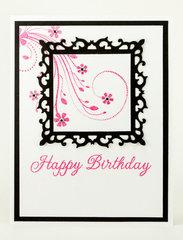 Pink/Black Birthday