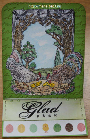 Easel, Easter Card