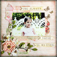 You Always shine in my eyes ****Purple Onion Designs****