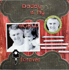 Daddy is my World Forever
