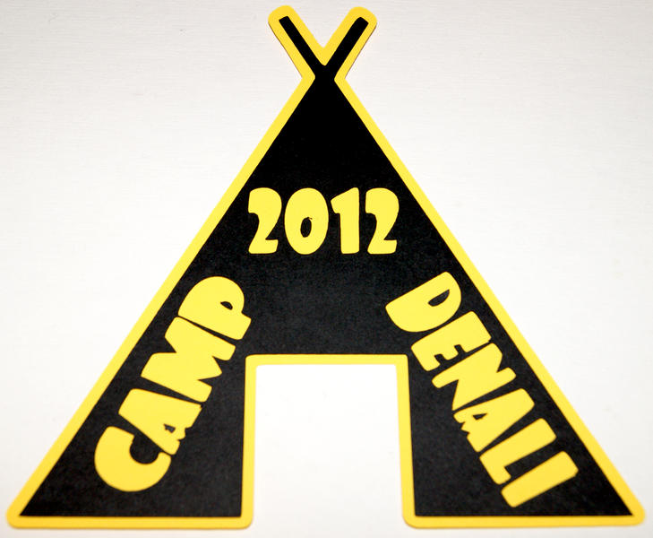 Camp Denali Die Cut Logo