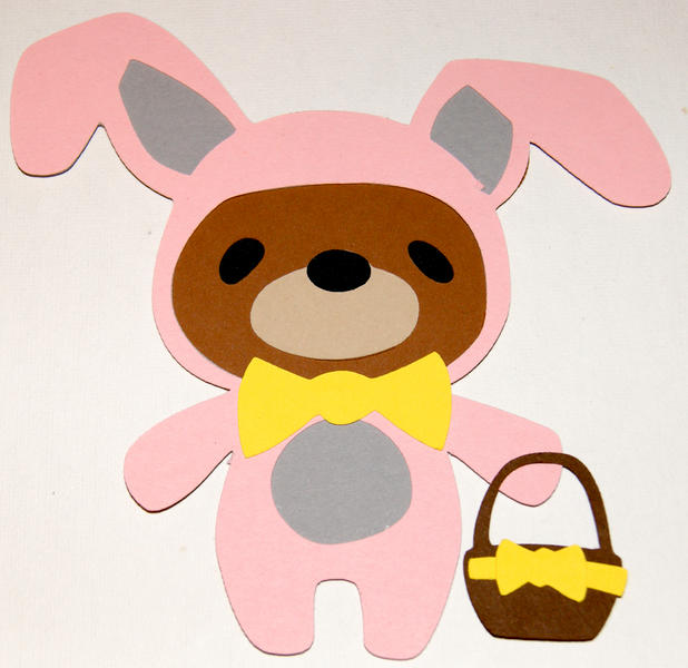 7 Layer Bunny Bear Die Cut