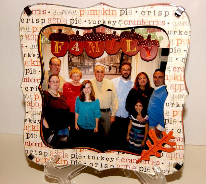 Thanksgiving Family Frame