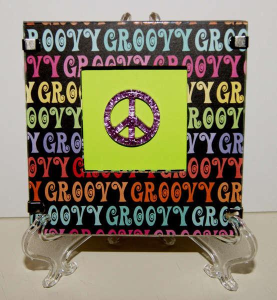 Groovy Shadow Box Frame