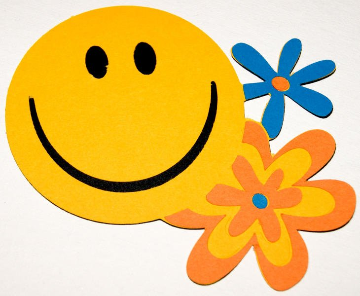 5 Layer Smiley Face Die Cut