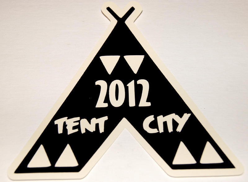 Tent City Die Cut Logo