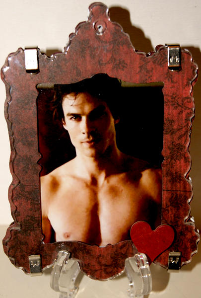 TVD Shadowbox Ornament Side two
