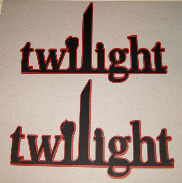 Twilight Die Cut Logo