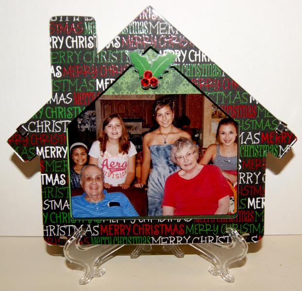Christmas House frame