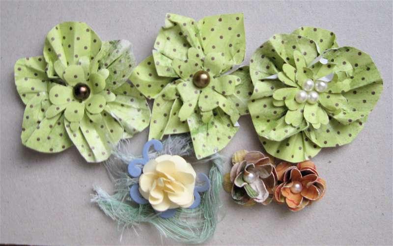 A few Handmade Flowers