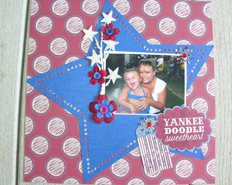 yankee doodle sweetheart hidden journaling