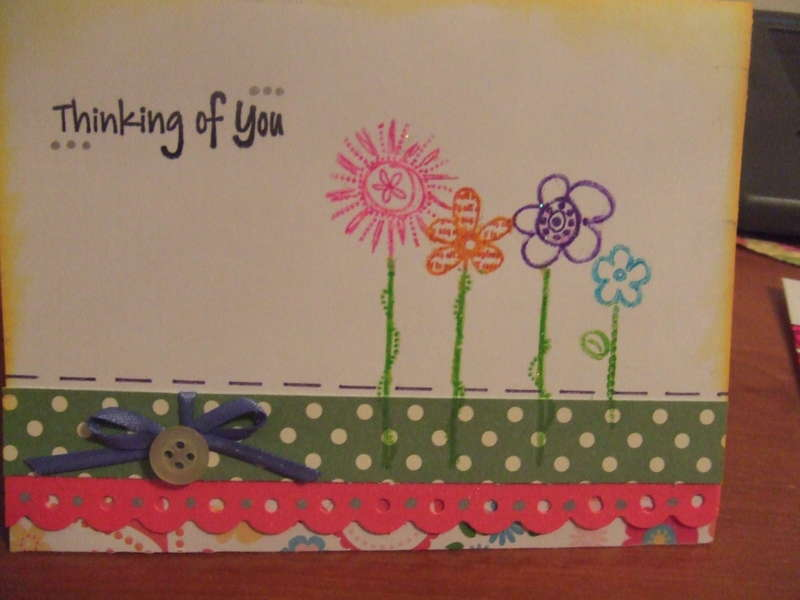 Thinking of You - Blank note card