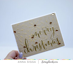 Gold & Silver Christmas Cards