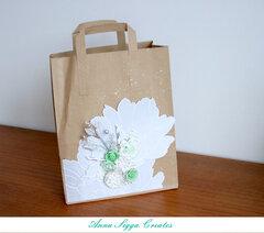 Altered paper bag