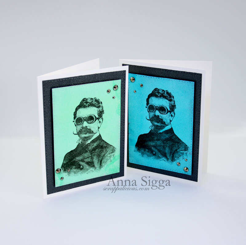 Simple Masculine cards