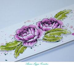 Pink Rose slim-card