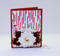 Floral Holiday Card