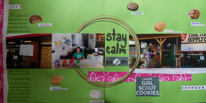 Stay Calm I Have Girl Scout Cookies