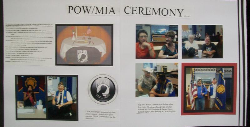 POW/MIA Ceremony