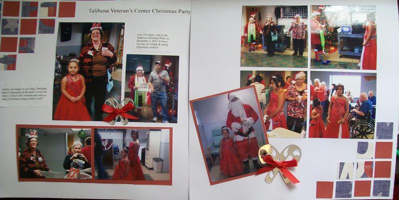 Talihena Veteran's Center Christmas Party