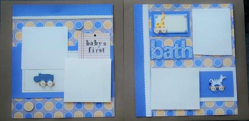 Babys First Bath take 2