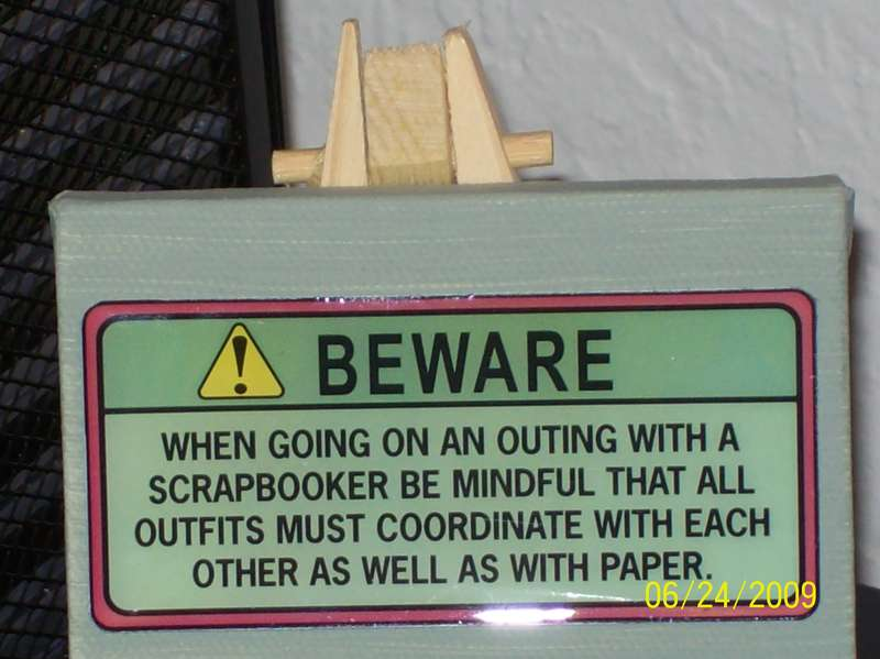Another Scraping Sign