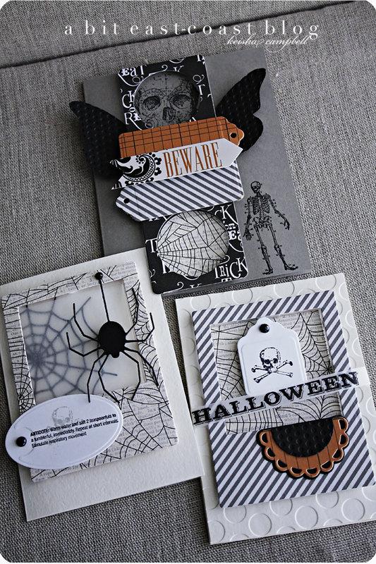 Teresa Collins Designs-Halloween cards