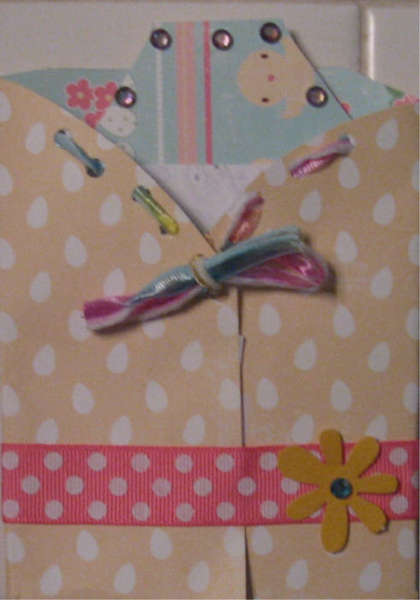 Easter Card with Tag insert