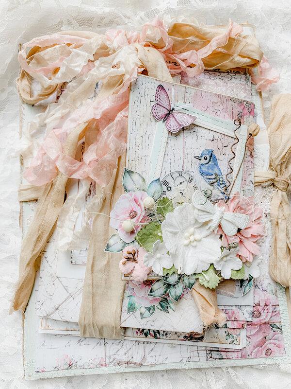 Dream Garden Envelope Journal