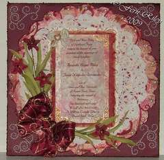 Amanda's Wedding Invitation