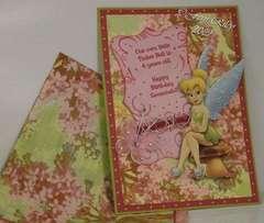Tinker Bell Birthday Card