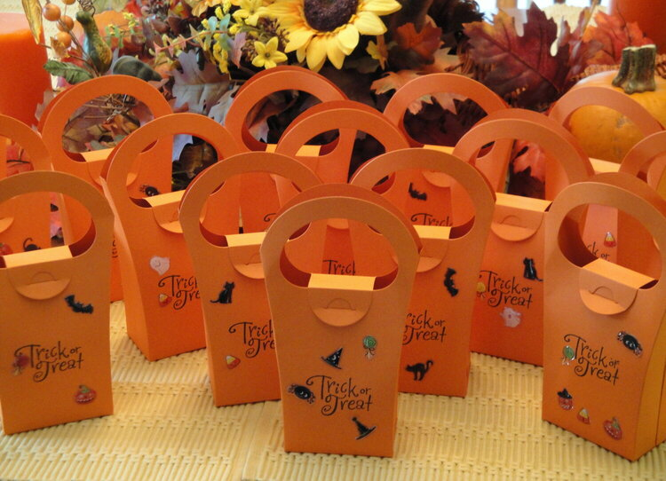 Creative Cuts & More Trick or Treat Bags.