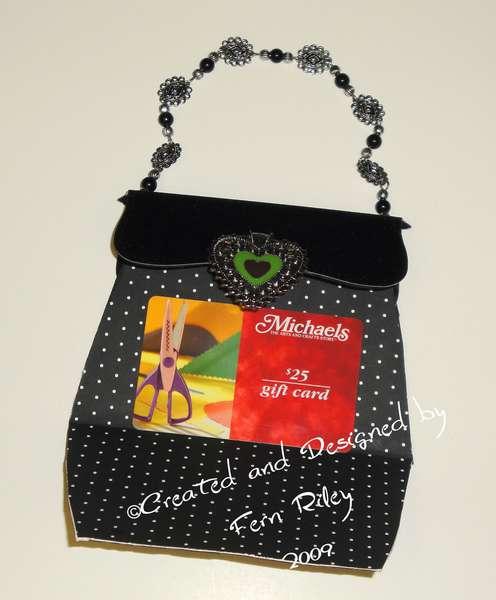 Gift Card Purse ~ Open