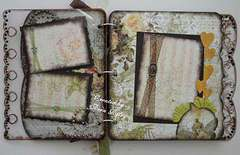 Mini Album 6th and 7th pages.