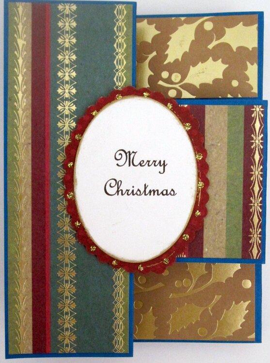 Christmas Tri-Fold Card